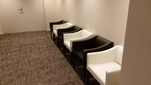 イオンラウンジの待合室