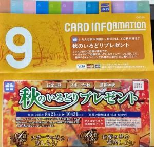 カードインフォメーション